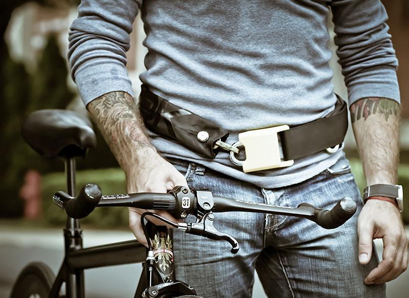 Wearable Bike Lock Wearable Bike Chain