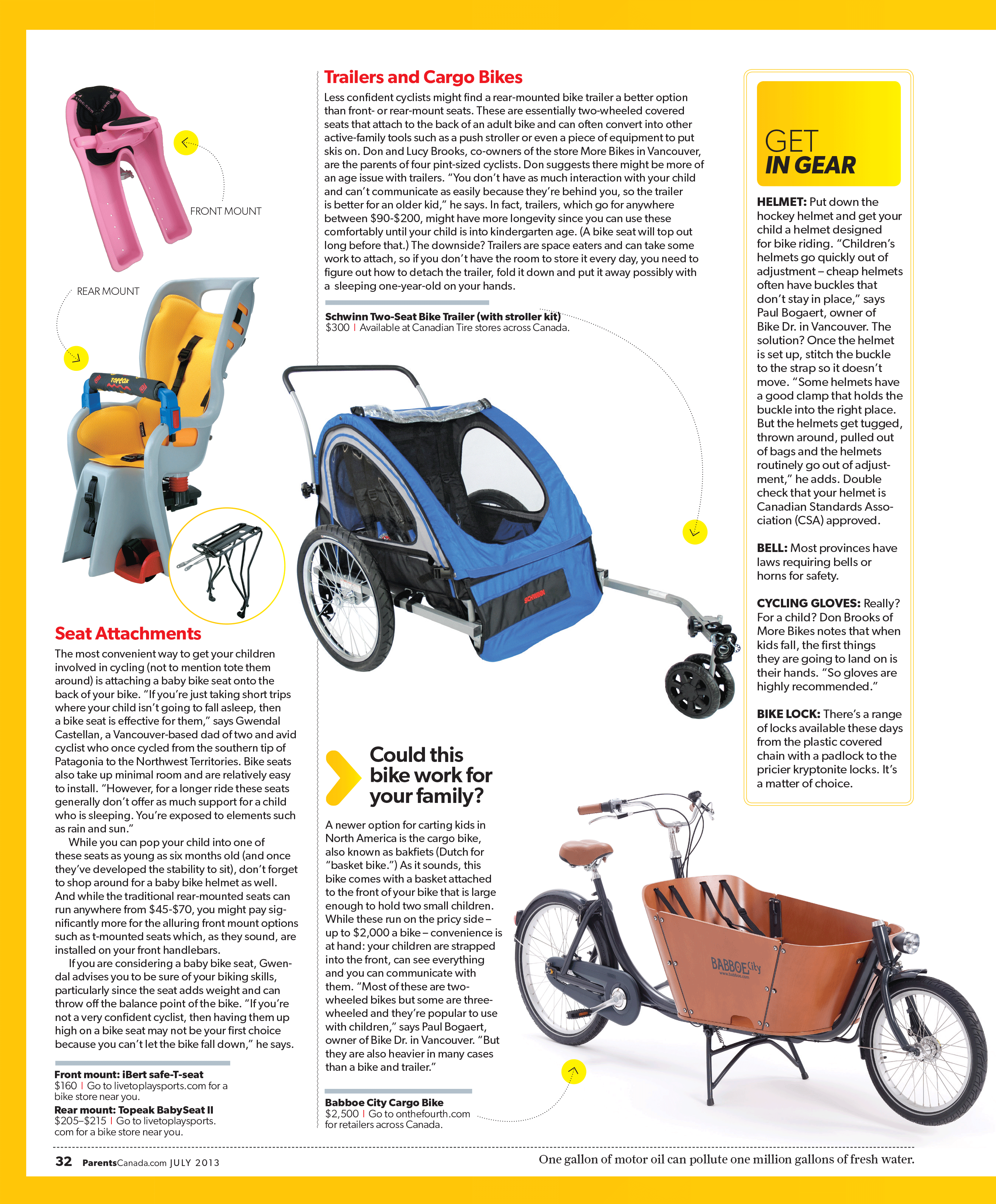 How to start cycling with your child: advice from Parents